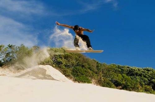 5-Sandboarding