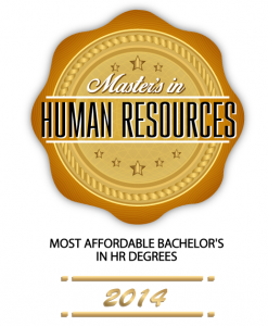 Badge - Master's in Human Resources